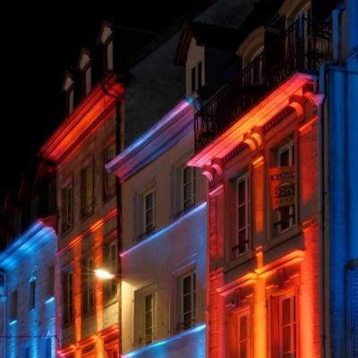 Montbéliard, lumières de Noël