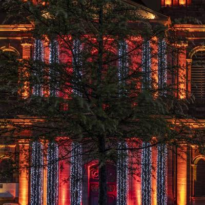 Belfort, lumières de Noël