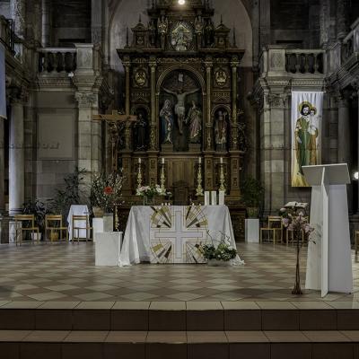 Montbéliard église Saint Maimboeuf intérieur