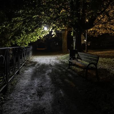 Audincourt balade nocturne au bord du Doubs