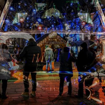 Montbéliard, lumières de Noël 2020