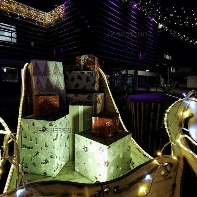 Audincourt, lumières de Noël